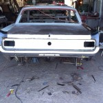 Renowacja Ford Mustang