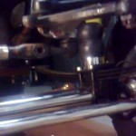 wstępny montaż układu kierowniczego po modernizacji