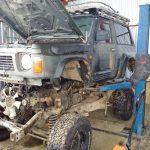 Nissan patrol UK odbudowa, naprawa,  reconstruction, rebuild nissan patrol